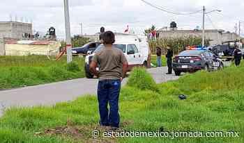 Video: Abandonan cadáver al lado de una primaria en San Cristóbal Huichochitlán, Toluca - La Jornada Estado de México