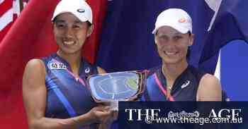 'Such a tight tussle': Stosur triumphs in US Open women's doubles final