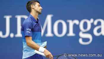 'They're booing him': Djokovic falling apart
