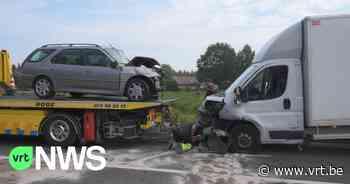 Twee gewonden bij ongeval in Meerhout - VRT NWS