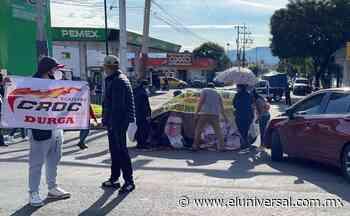 Restauranteros bloquean la carretera Texcoco-Lechería, exigen ampliar horario ante Covid | El Universal - El Universal
