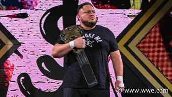 Samoa Joe sustains injury, relinquishes NXT Championship - WWE