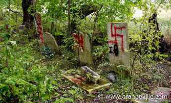 Orangeville cemetery tagged with swastikas and phallic imagery - Orangeville Banner