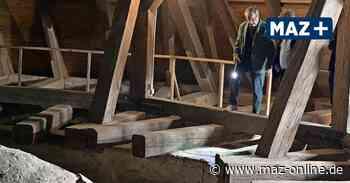Pritzwalk: Blick unters Kirchendach zum Tag des offenen Denkmals - Märkische Allgemeine Zeitung