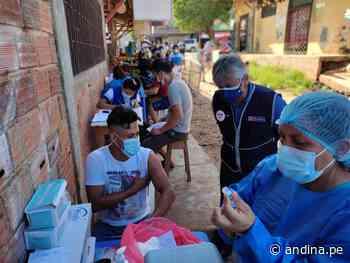Pucallpa: desplegaron 30 brigadas para aplicar hoy 3000 vacunas contra la covid-19 - Agencia Andina