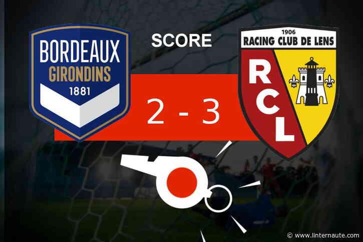 Bordeaux - Lens : les Girondins de Bordeaux tombe, revivez les moments clés du match - Linternaute.com