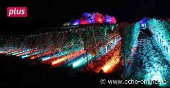 Knapp 700 Scheinwerfer erhellen den Kirchberg bei Bensheim - Echo Online