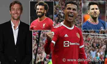 PETER CROUCH: I might even have to switch from Messi to Ronaldo now! The man's a marvel