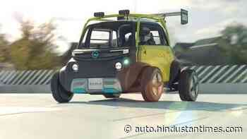 This nano electric quadricycle rendering gets quirky looks, off-road tyres - HT Auto