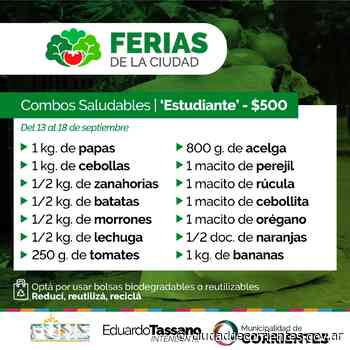 Las Ferias de la Ciudad llegan a los barrios San Gerónimo, 17 de Agosto, Santa María y Pirayuí - Municipalidad de Corrientes