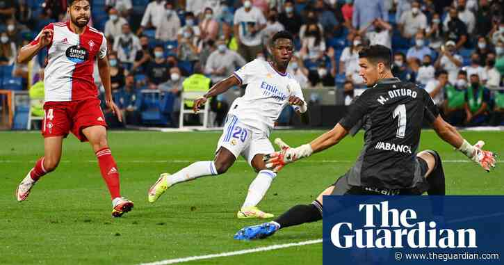 Vinícius kickstarts Bernabéu party and comes of age as Real Madrid hero | Sid Lowe
