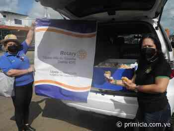 Rotary Upata también conmemoró el Día Mundial de la Arepa con una jornada social - Diario Primicia - primicia.com.ve