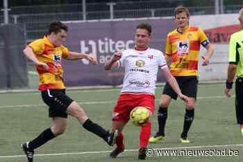 """Jan-Thomas Kerkhof (FC Meulebeke) panikeert niet na 5-0 en 0 op 6: """"Er zit zeker muziek in onze ploeg"""""""