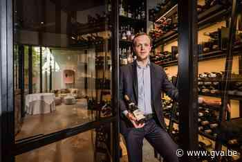 """Topsommelier Victor Derks van Nuance wordt gelauwerd: """"Zelf drink ik maar weinig wijn"""" - Gazet van Antwerpen"""