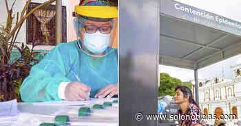 Realizan pruebas para detectar COVID-19 en Chirilagua, San Miguel - Solo Noticias