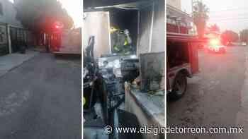 Se incendia domicilio en la colonia San Felipe de Torreón - El Siglo de Torreón
