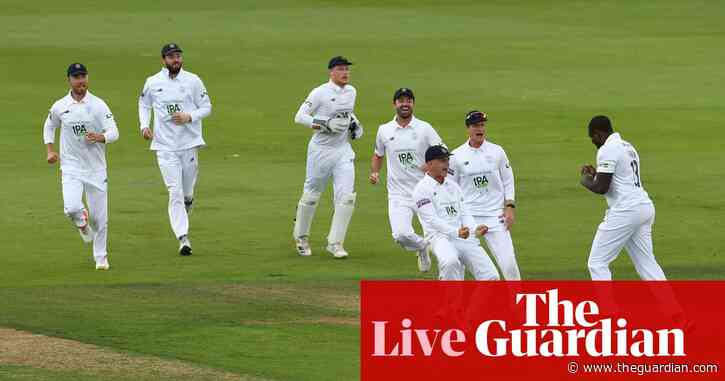 County cricket: Hampshire's Barker rocks leaders Notts –as it happened