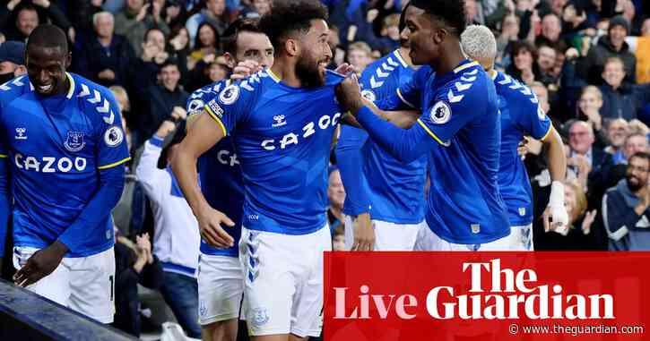 Everton 3-1 Burnley: Premier League – as it happened!