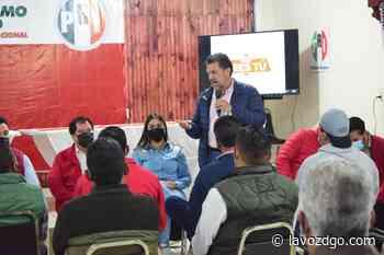Ratifica RLP su compromiso con Pueblo Nuevo - La Voz de Durango