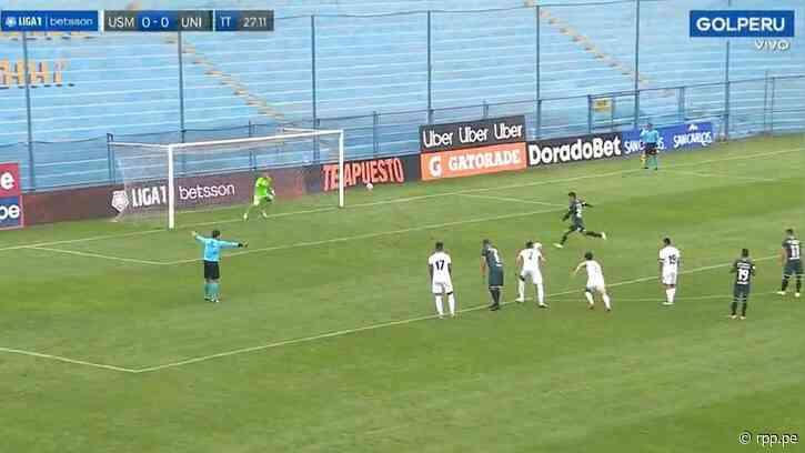 Con sequía goleadora: Alex Valera perdió penal en el Universitario vs. San Martín - La10