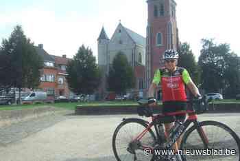 """Hubert (75) fietst opnieuw naar Compostela: """"2.400 kilometer voor het goede doel"""""""