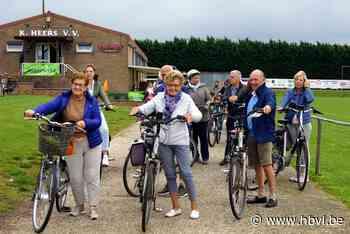 165 fietsers voor Kom op tegen Kanker (Heers) - Het Belang van Limburg Mobile - Het Belang van Limburg