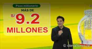 Reventó el pozo millonario de la Tinka y un afortunado en Moquegua se llevó más de 9.2 millones de soles - Diario Correo