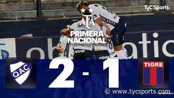 Quilmes vs. Tigre, por la Primera Nacional: resumen, resultado, goles y polémicas - TyC Sports
