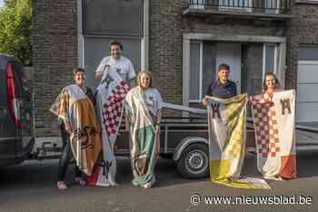Vlaggen kondigen 50ste Kasteelstraatfeesten aan