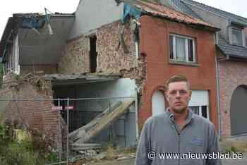 En dan stort plots de gevel van je huis in: 'dom foutje' van de buren bezorgt Anthony lijdensweg van 5 jaar