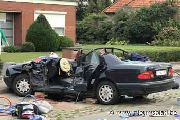 Zeventiger buiten levensgevaar na zwaar ongeval