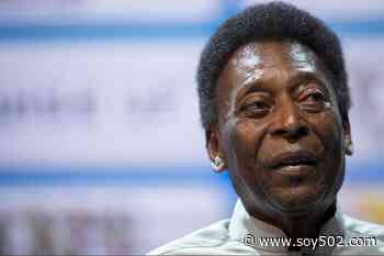 Primera foto de Pelé tras la cirugía de colon - Soy502