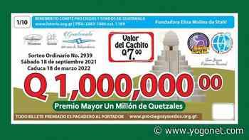 Guatemala: Lotería Santa Lucía cumple 65 años - Yogonet Latinoamérica