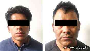 Tras operativo en Santa Lucía del Camino, logramos aprehender a dos delincuentes probablemente implicados en robos a tiendas OXXO - TV BUS Canal de comunicación urbana