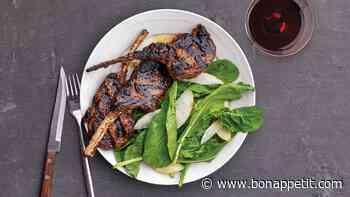 Grilled Lemongrass Lamb Chops