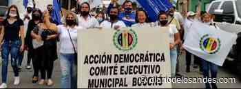 Desde Boconó AD sigue luchando «por una Venezuela libre y de los venezolanos» - Diario de Los Andes