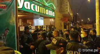 Callao: Ampayan a más de 300 covidiotas borrachos en el 'Yacumama' - Diario Trome