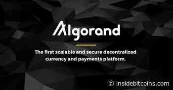 Algorand Price Dips 3.3% to $2.10 – Where to Buy ALGO - Inside Bitcoins
