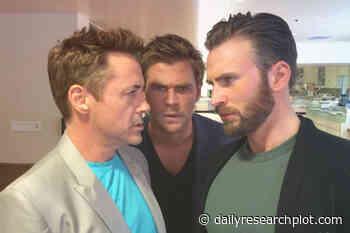 Chris Hemsworth and Robert Downey Jr.'s Coolest- Daily Research Plot - Daily Research Plot