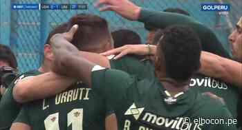 Universitario vs. San Martín: Luis Urruti marcó el 1-0 para cremas   VIDEO - El Bocón