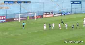 Se le sigue negando el gol: Ynamine le tapó un penal a Valera en el Universitario vs. San Martín [VIDEO] - Diario Depor
