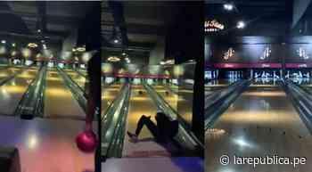 Estudiante universitario convierte su caída practicando bowling en una victoria - La República Perú