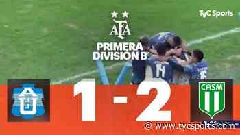San Miguel gana 2-1 a J.J. de Urquiza con doblete de Javier Greco - TyC Sports