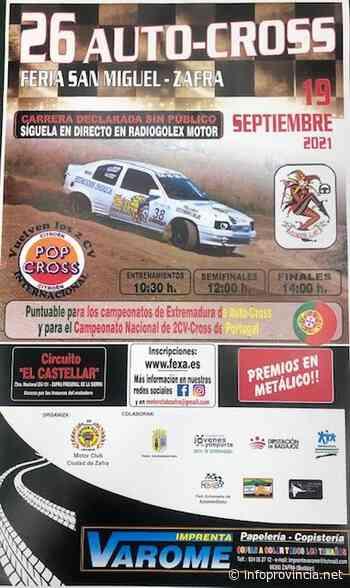 El Autocross Feria de San Miguel de Zafra celebra su XXVI edición este domingo 19 de septiembre - Infoprovincia