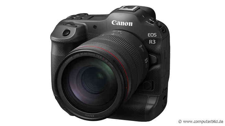 Canon EOS R3: Ultraschnelle Profi-Systemkamera - COMPUTER BILD - COMPUTER BILD