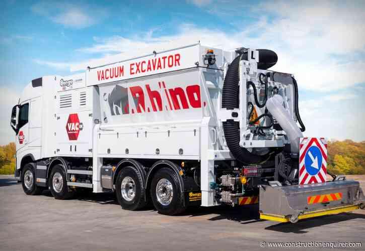 """Vac UK unveils """"Ferrari of the vacuum excavation world"""""""