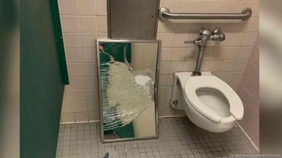 Estudiantes destruyen baños en escuelas de NEISD - Telemundo San Antonio
