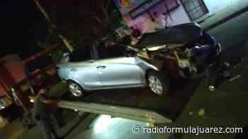 Muere mujer en aparatoso choque en la Guadalupe Victoria - Radio Formula CD. Juaréz