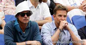 Brad Pitt and Bradley Cooper Smolder at the U.S. Open: Photos - Us Weekly