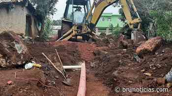 Inicia Gobierno de Zináparo con obra en El Tigre - Brunoticias